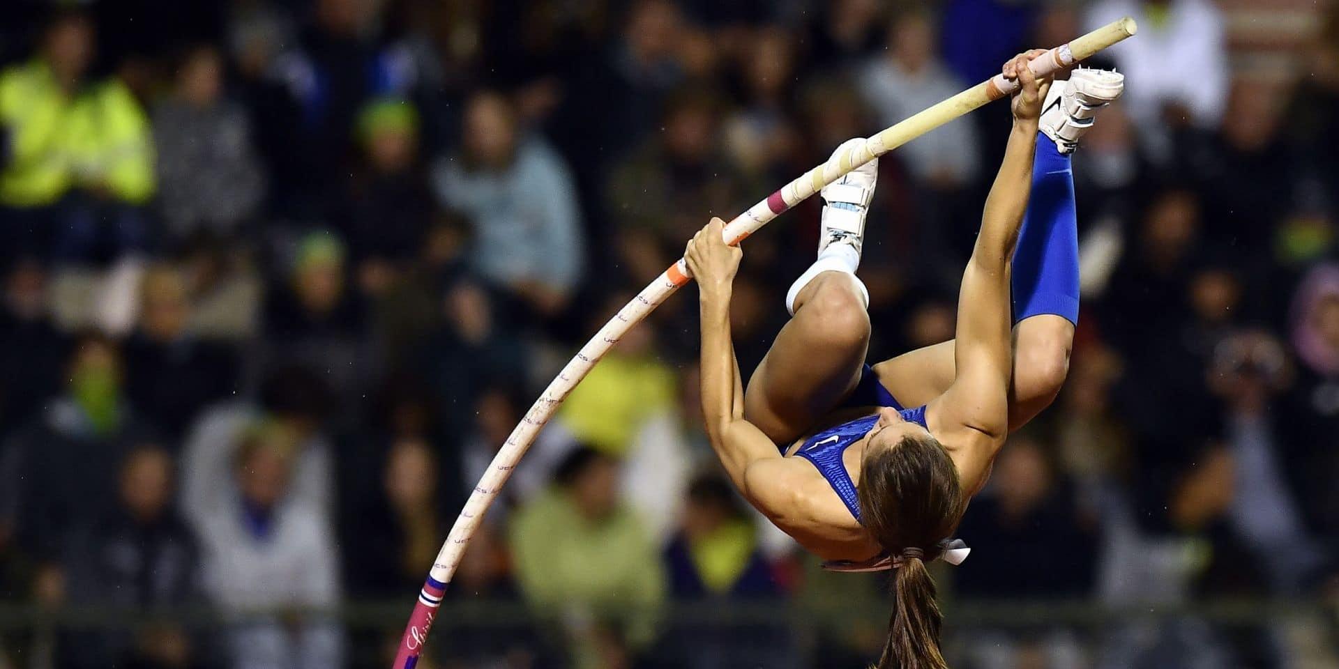 Katerina Stefanidi remporte le concours de perche à distance