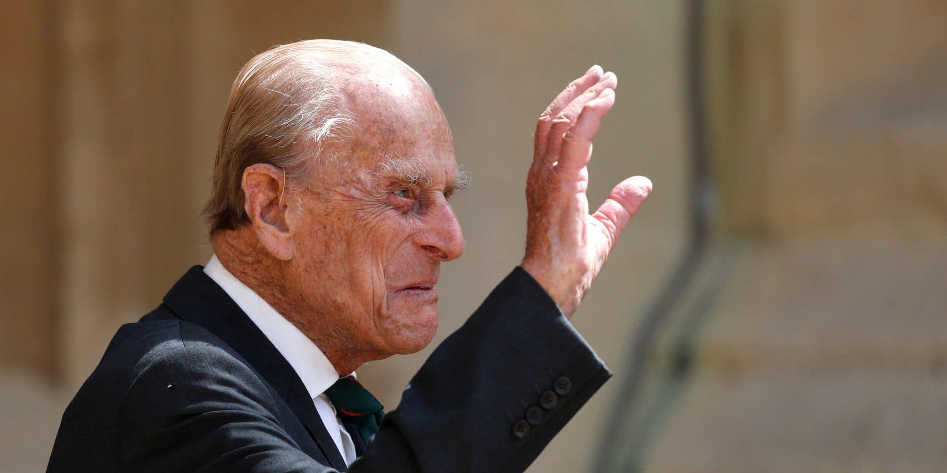 """Le prince Philip, époux de la reine Elizabeth, hospitalisé pour """"quelques jours"""""""