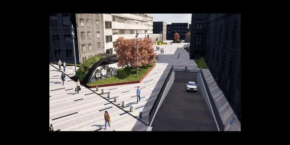L'UNamur rassurée par le refus de permis pour le projet de parking Place du Palais de Justice