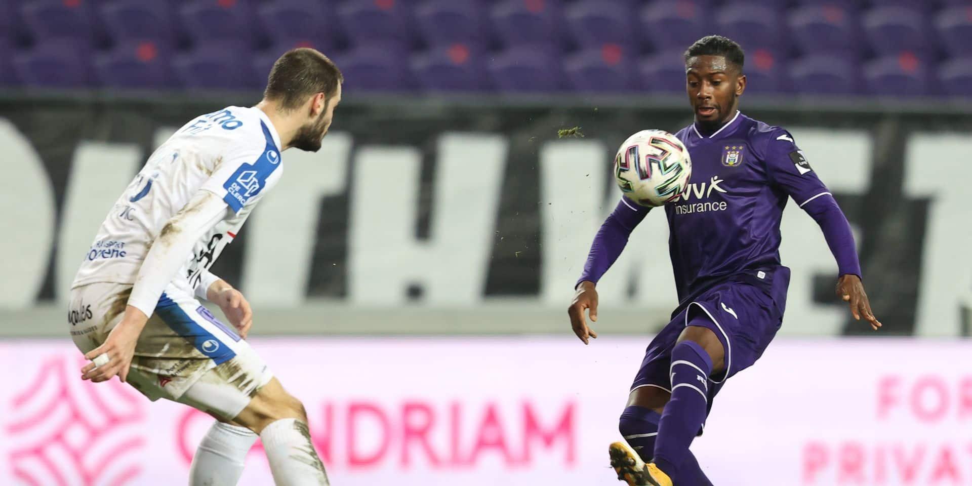 """Diaby a marqué des points pour sa première avec Anderlecht: """"On va l'amener à son meilleur niveau"""""""