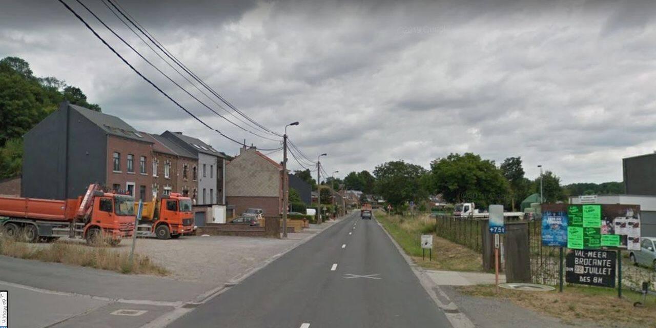 Oupeye : trois cyclistes blessés
