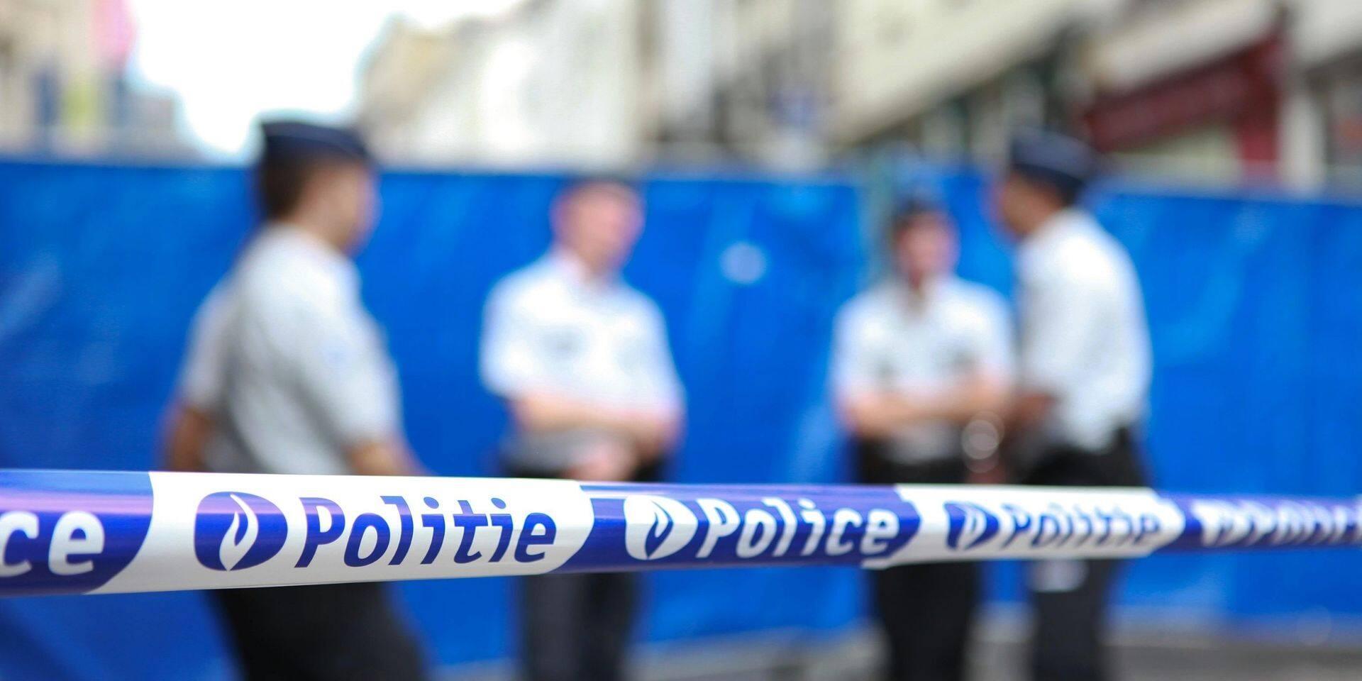 Accident à Anderlecht entre une patrouille de police et un automobiliste