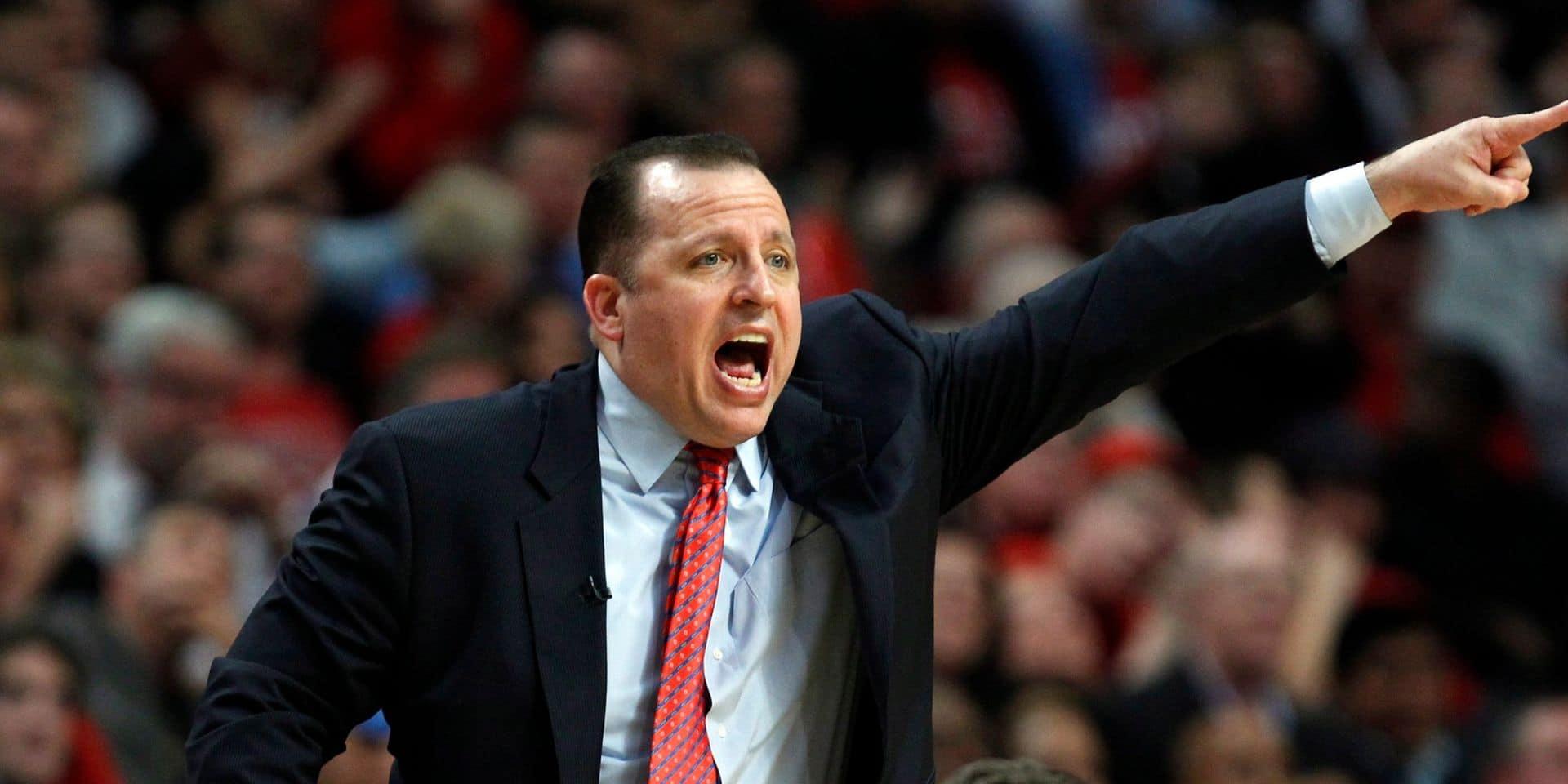 Tom Thibodeau nouveau coach des Knicks