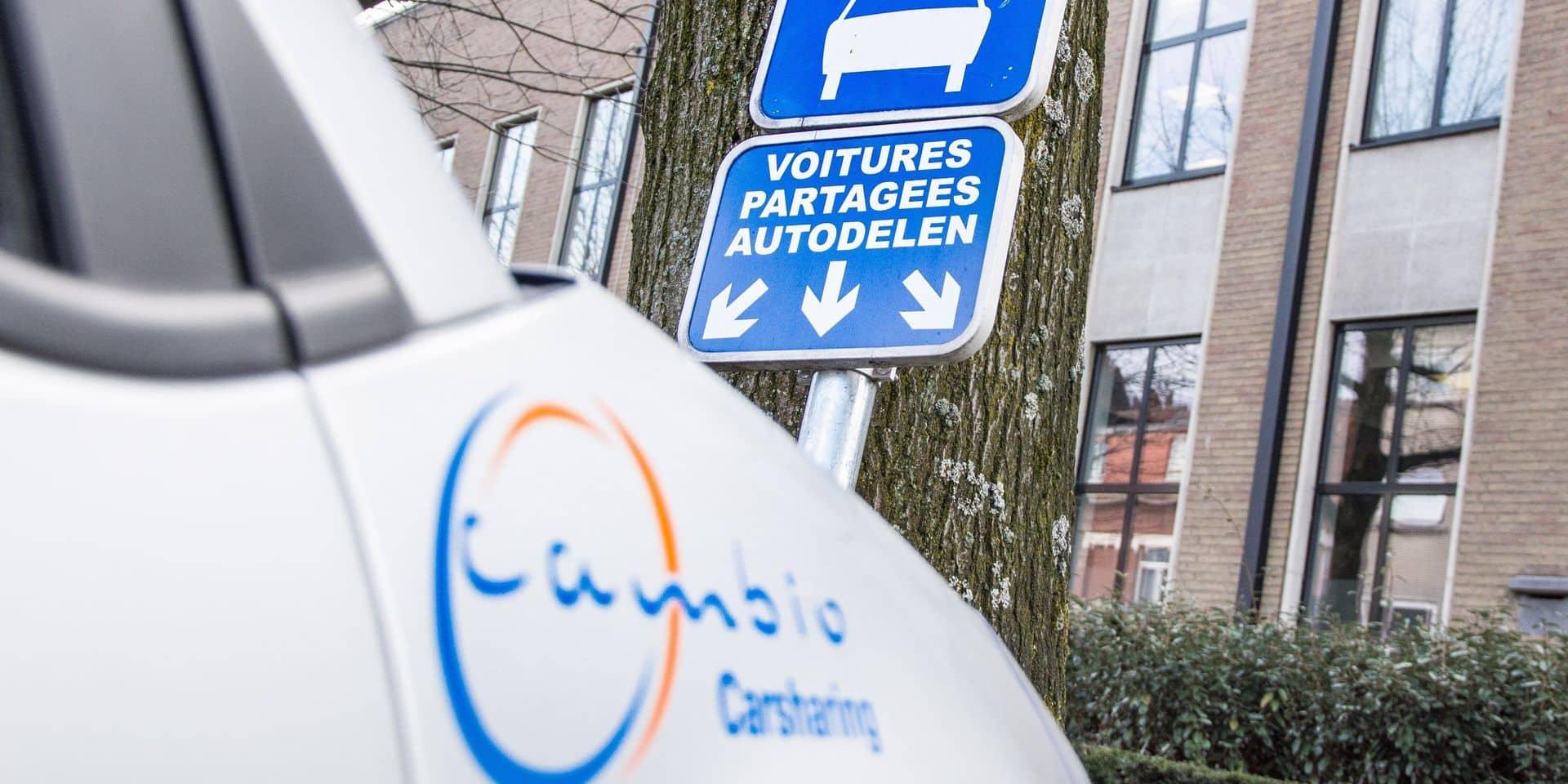 Mons : Six stations de voitures partagées (Cambio) disponibles en intra-muros