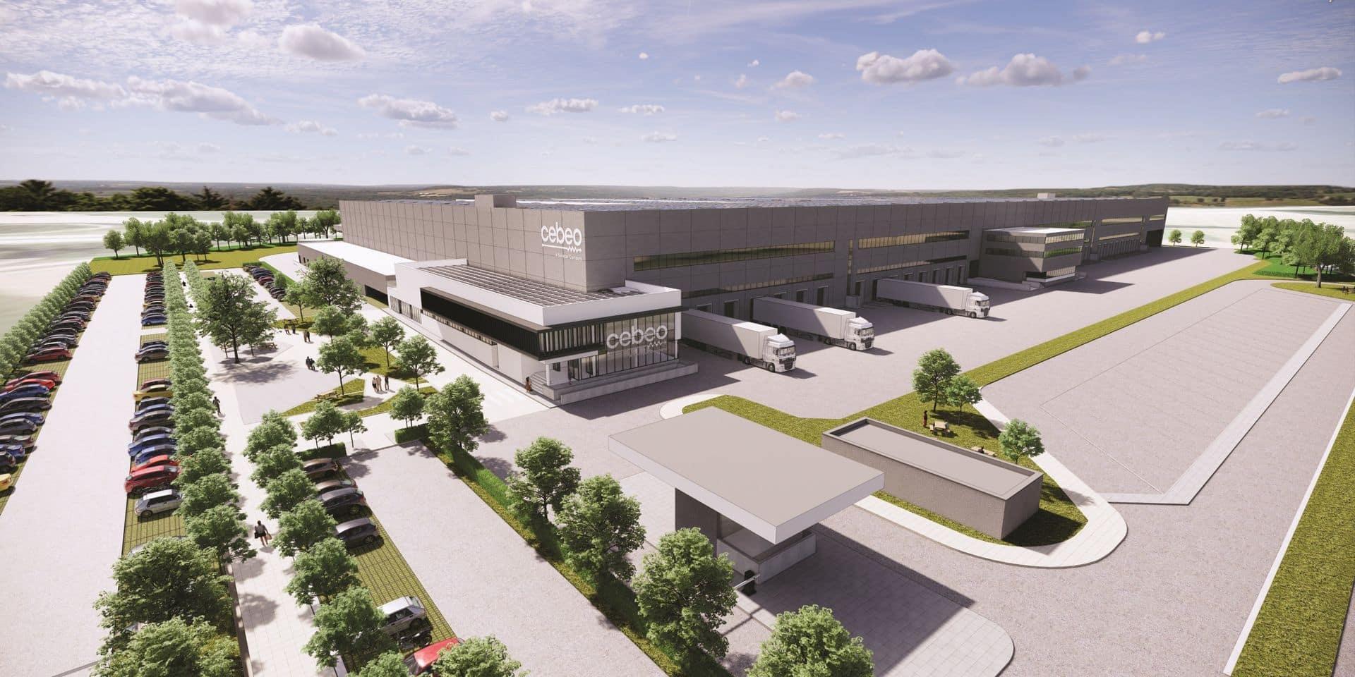 Cebeo va construire son nouveau centre de distribution dans le zoning Tournai Ouest 3