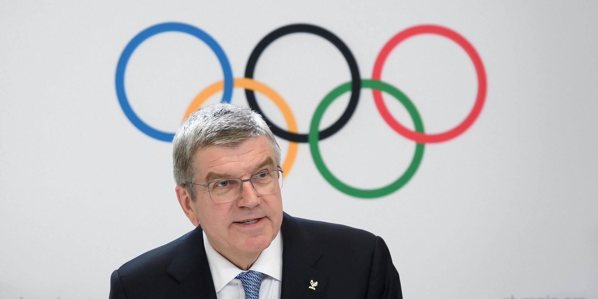 Thomas Bach en visite au Japon, pas d'annulation des Jeux de Tokyo envisagée