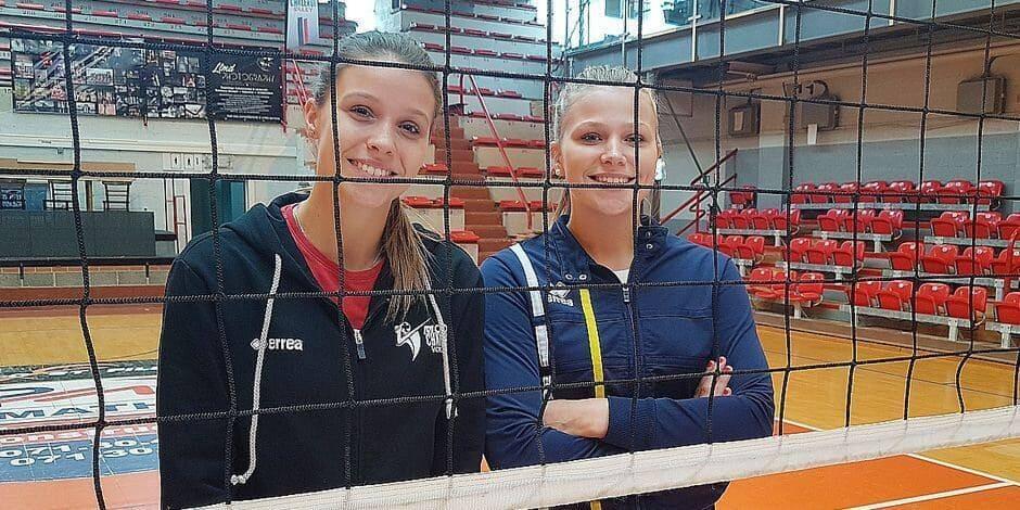 Les soeurs Hannaert prolongent à Charleroi Volley
