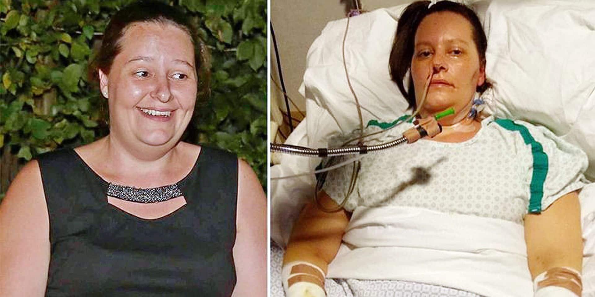 Tara, victime d'une bactérie carnivore, a été amputée