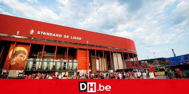 Illustration picture shows the outside of the 'Stade Maurice Dufrasne' stadium before the Jupiler Pro League match between Standard de Liege and KAA Gent, in Liege, Friday 27 July 2018, on the first day of the Jupiler Pro League, the Belgian soccer championship season 2018-2019. BELGA PHOTO JASPER JACOBS