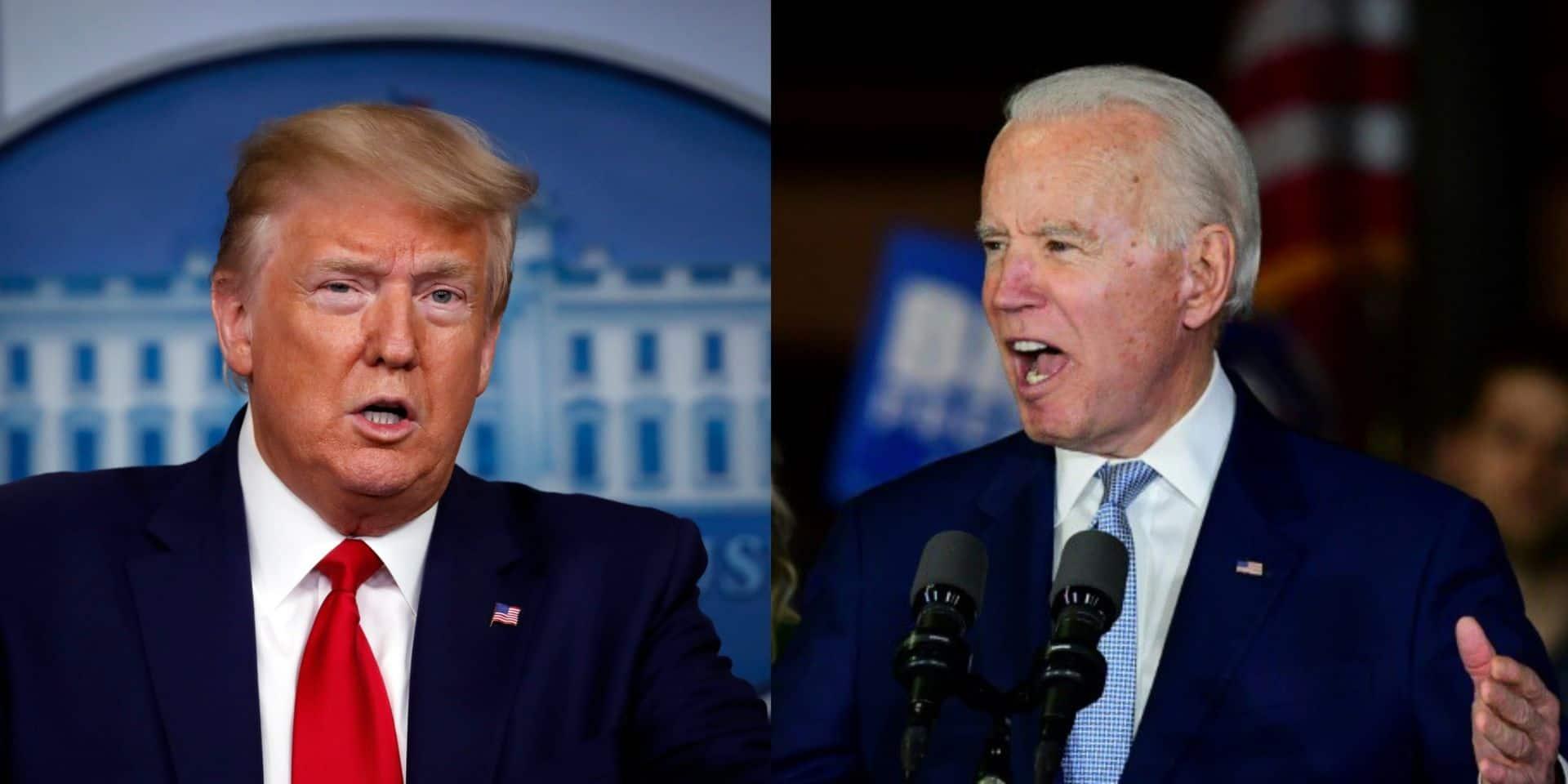"""Biden et Trump se sont finalement appelés pour parler du coronavirus: """"Un échange amical"""""""
