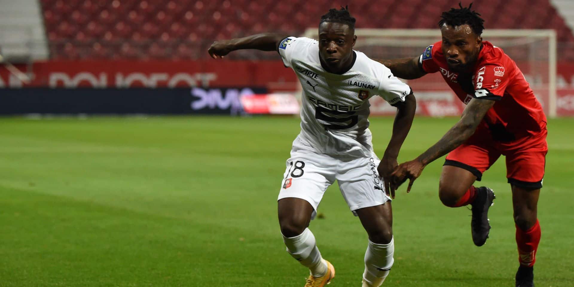 Première réussie pour Doku avec Rennes