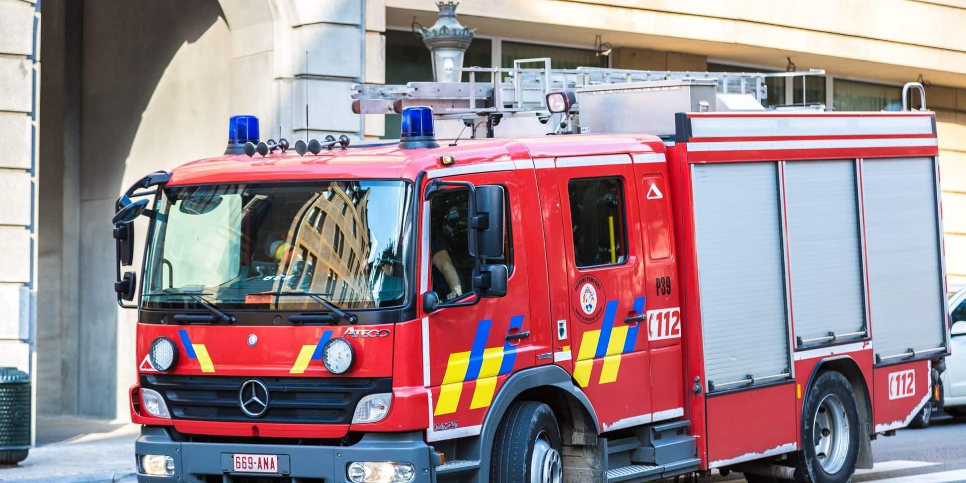 Six maisons inhabitables à Anderlecht après une importante fuite d'eau