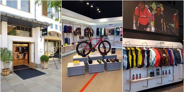 Bon plan vélo   la marque spécialisée dans les vêtements cyclistes Rapha a  ouvert un pop-up store à Maasmechelen - La DH b349da64608