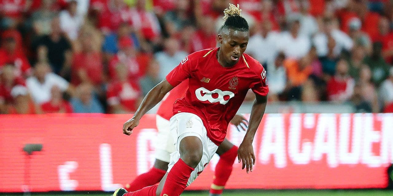 Standard's Samuel Bastien pictured in action during the Jupiler Pro League match between Standard de Liege and KAA Gent, in Liege, Friday 27 July 2018, on the first day of the Jupiler Pro League, the Belgian soccer championship season 2018-2019. BELGA PHOTO VIRGINIE LEFOUR