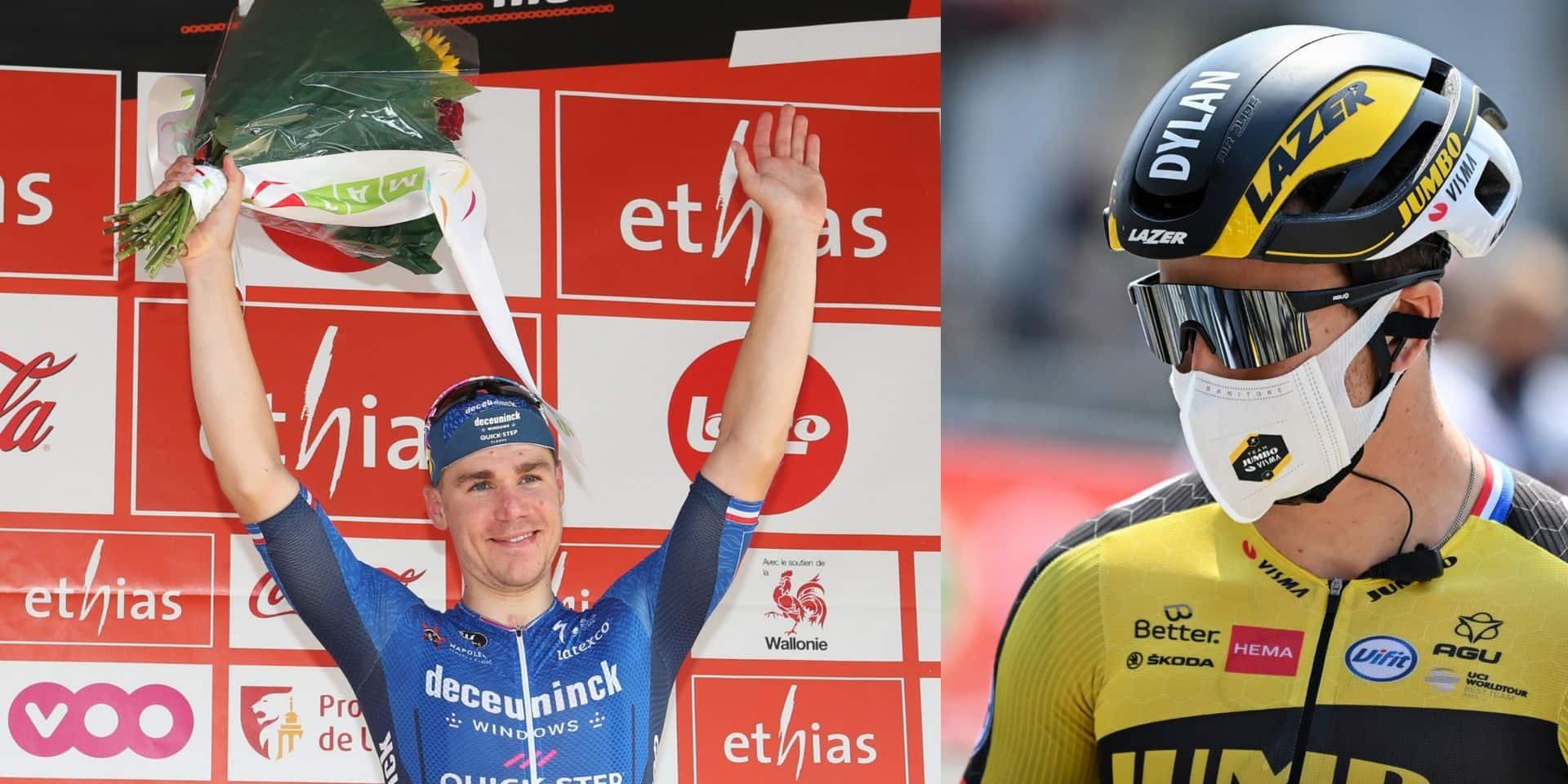 """Dylan Groenewegen a félicité Fabio Jakobsen pour sa victoire au Tour de Wallonie: """"Je suis très content de le voir s'imposer à nouveau"""""""