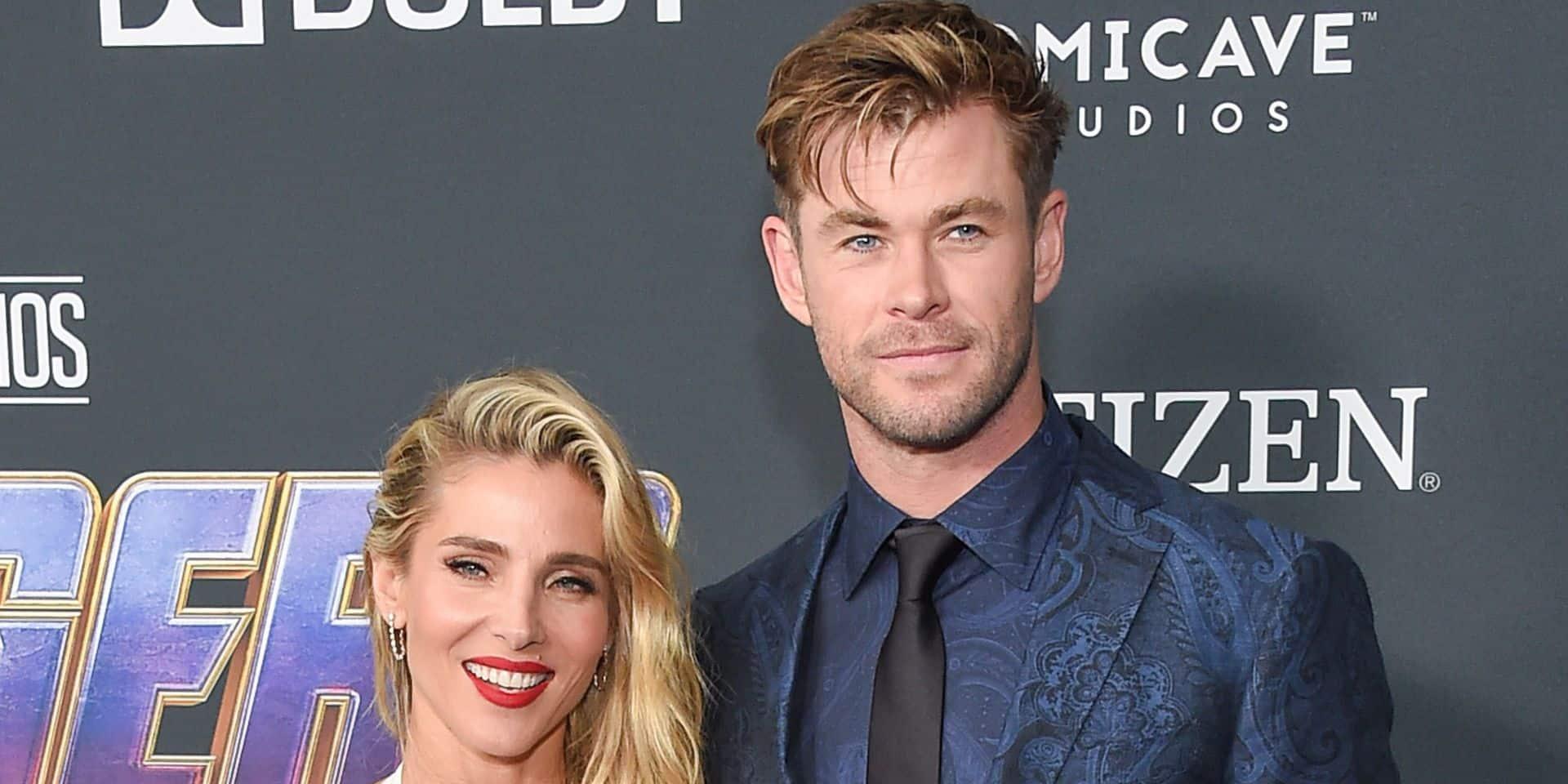 """Chris Hemsworth, 10 ans de mariage avec Elsa Pataky: """"Au cinéma je suis peut-être Thor, mais à la maison, le chef, c'est ma femme !"""""""