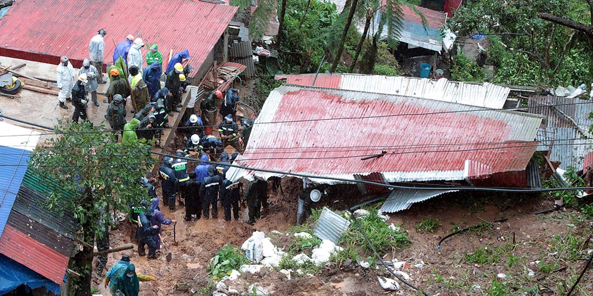 Philippines: une tempête tropicale fait 30 morts et 13 disparus