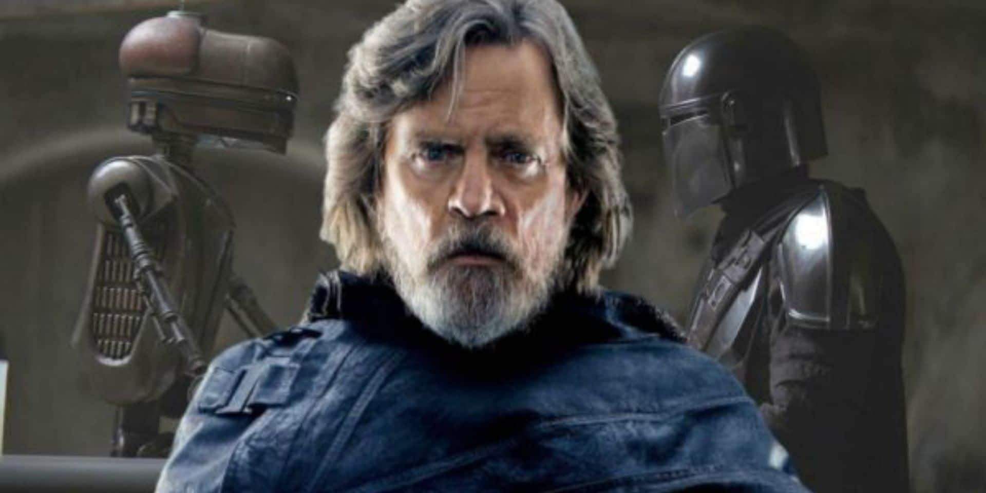 Mark Hamill, aka Luke Skywalker, aura un rôle bien particulier dans The Mandalorian