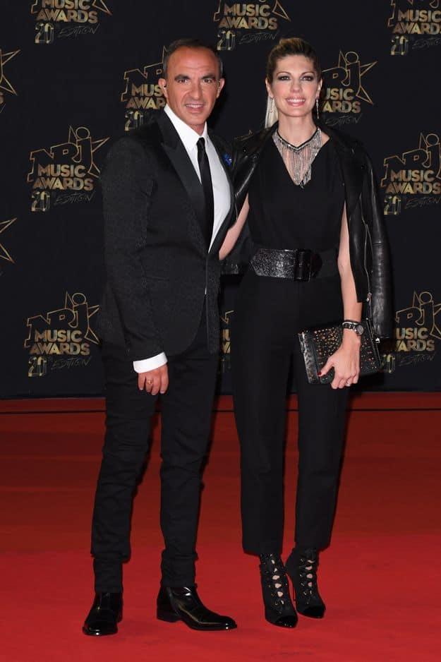 Nikos Aliagas et sa femme Tina-Grigoriou