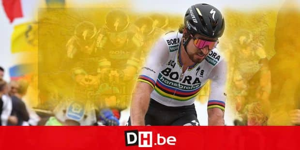 Slovakian Peter Sagan of Bora-Hansgrohe pictured in action during the 116th edition of the 'Paris-Roubaix' one day cycling race, from Compiegne, near Paris to Roubaix. BELGA PHOTO DAVID STOCKMAN