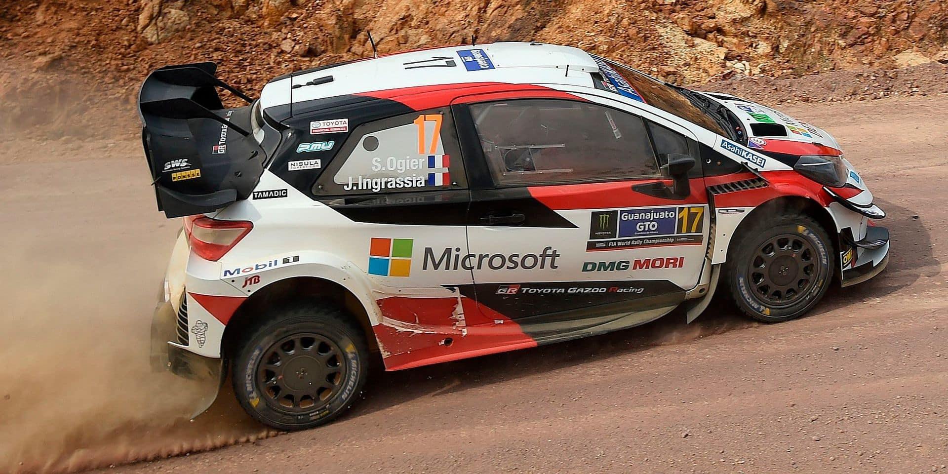 WRC Mexique ES15: Scratch pour Tanak revenu à 6.6 de la 2e place, faute pour Neuville