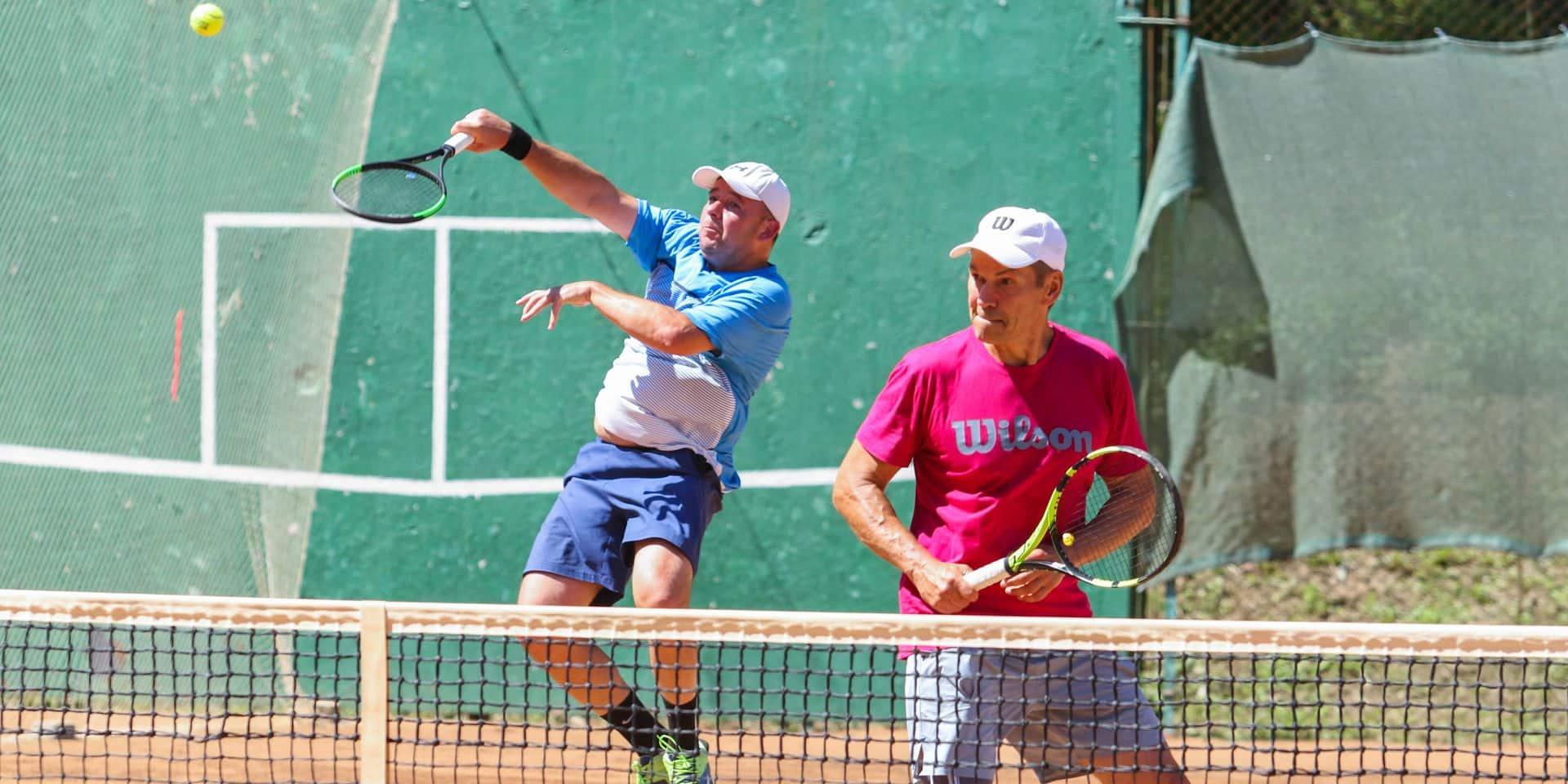 Poltava,,Ukraine,-,July,18,,2020:,Tennis,Player,During,Men's