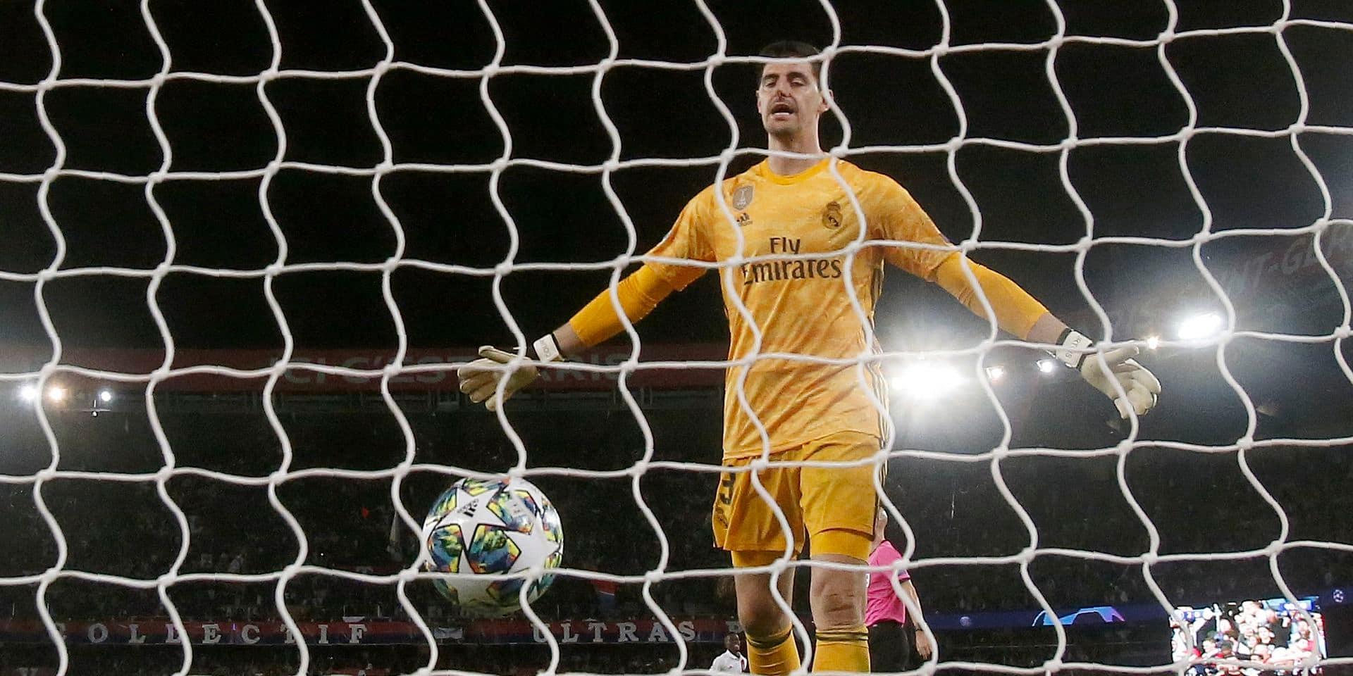 """Courtois revient sur la défaite 3-0 contre le PSG:"""" Il n'y a pas d'excuse"""""""