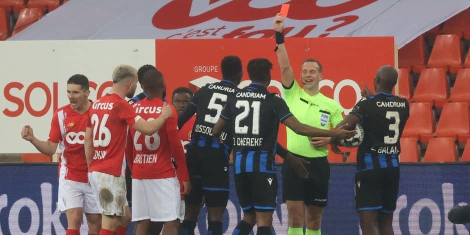Dans une atmosphère explosive, le Standard élimine Bruges grâce à un but de Muleka (1-0)
