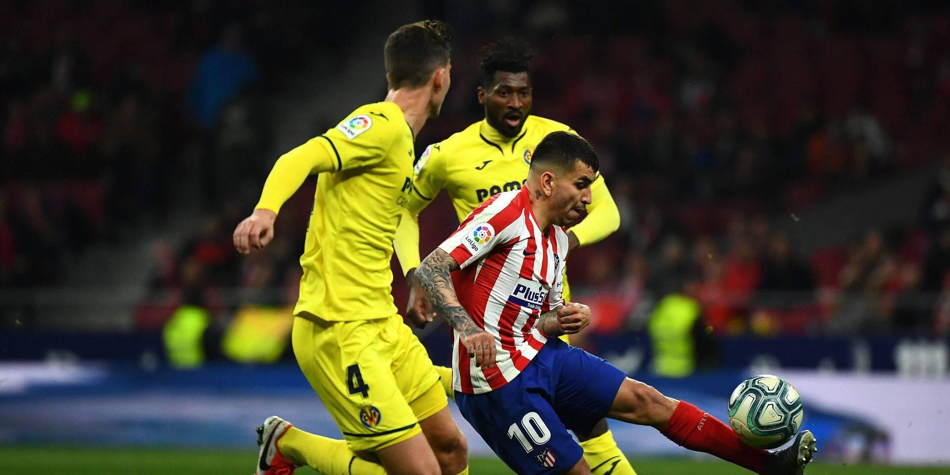 Les Belges à l'étranger: l'Atlético Madrid coule Villarreal et intègre le top-4