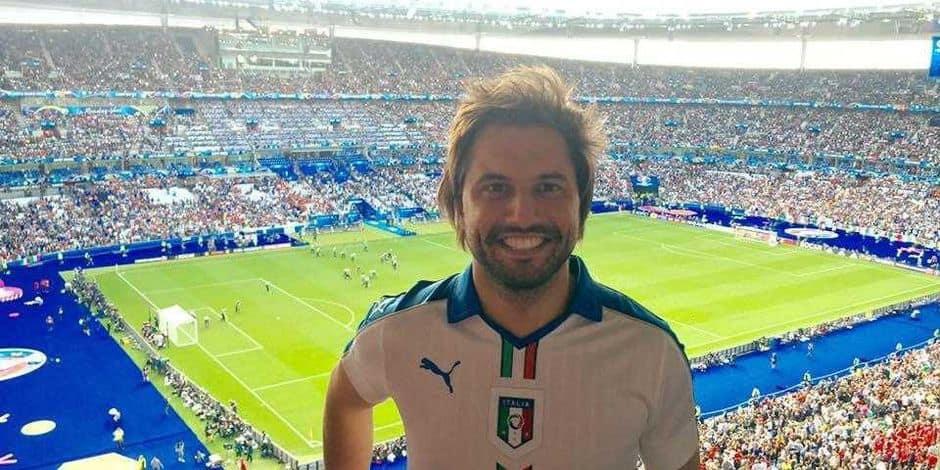 """Georges-Louis Bouchez : """"Je suis supporter de l'Italie mais je veux une victoire belge"""""""