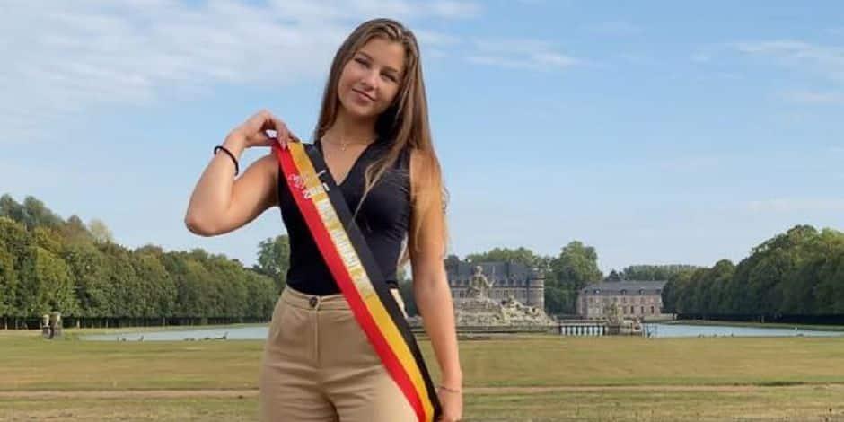 Une jeune fille de Saint-Ghislain en finale du concours Miss Belgique !