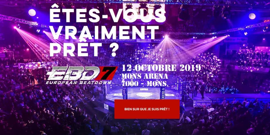 Concours réservé aux abonnés : La DH vous offre 20x2 tickets pour L'EUROPEAN BEATDOWN 7