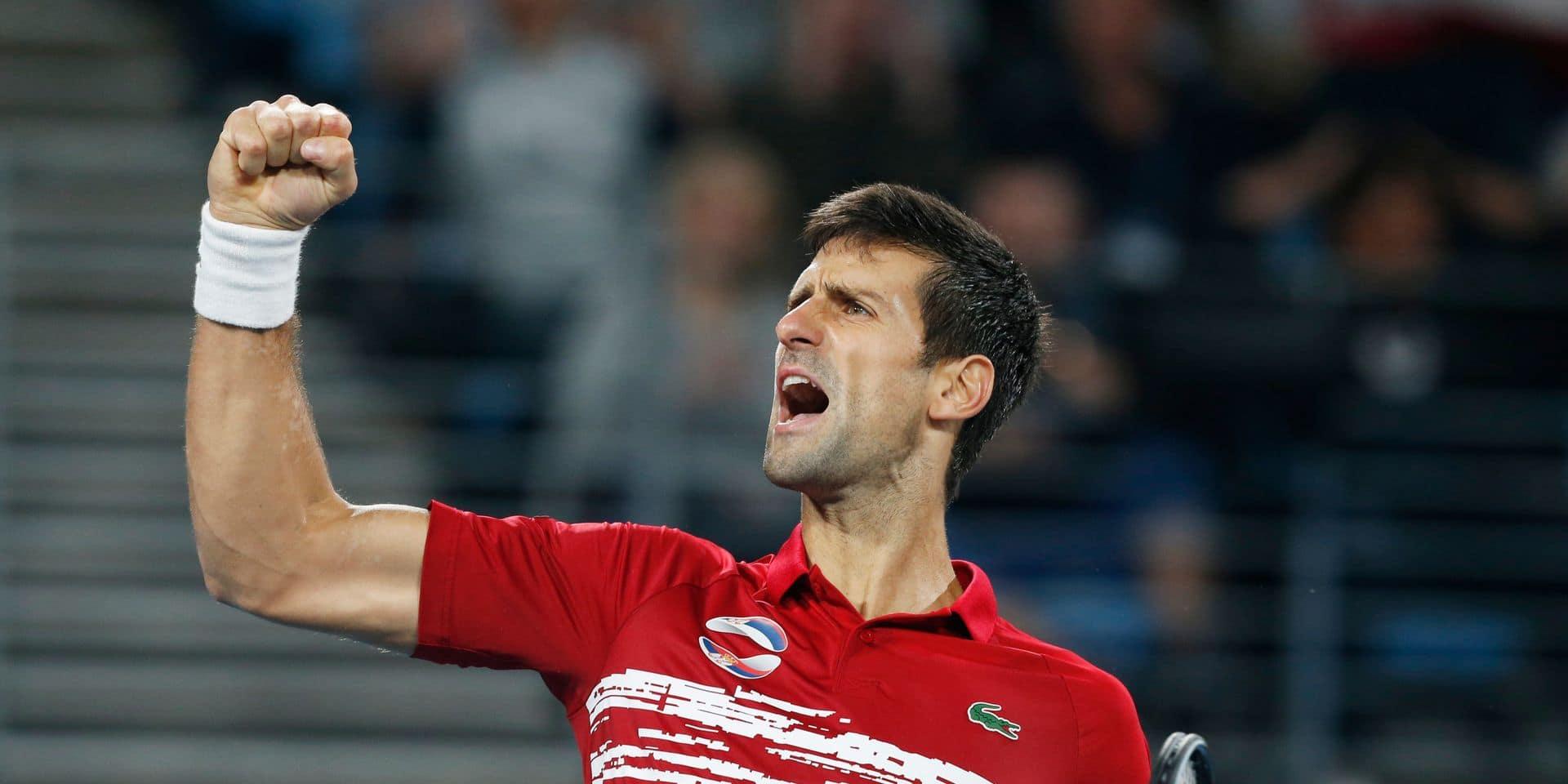 """Novak Djokovic a vécu """"l'un des plus beaux moments"""" de sa carrière"""