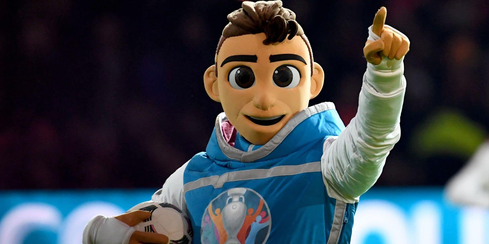 Euro 2020: La mascotte officielle présentée à Amsterdam