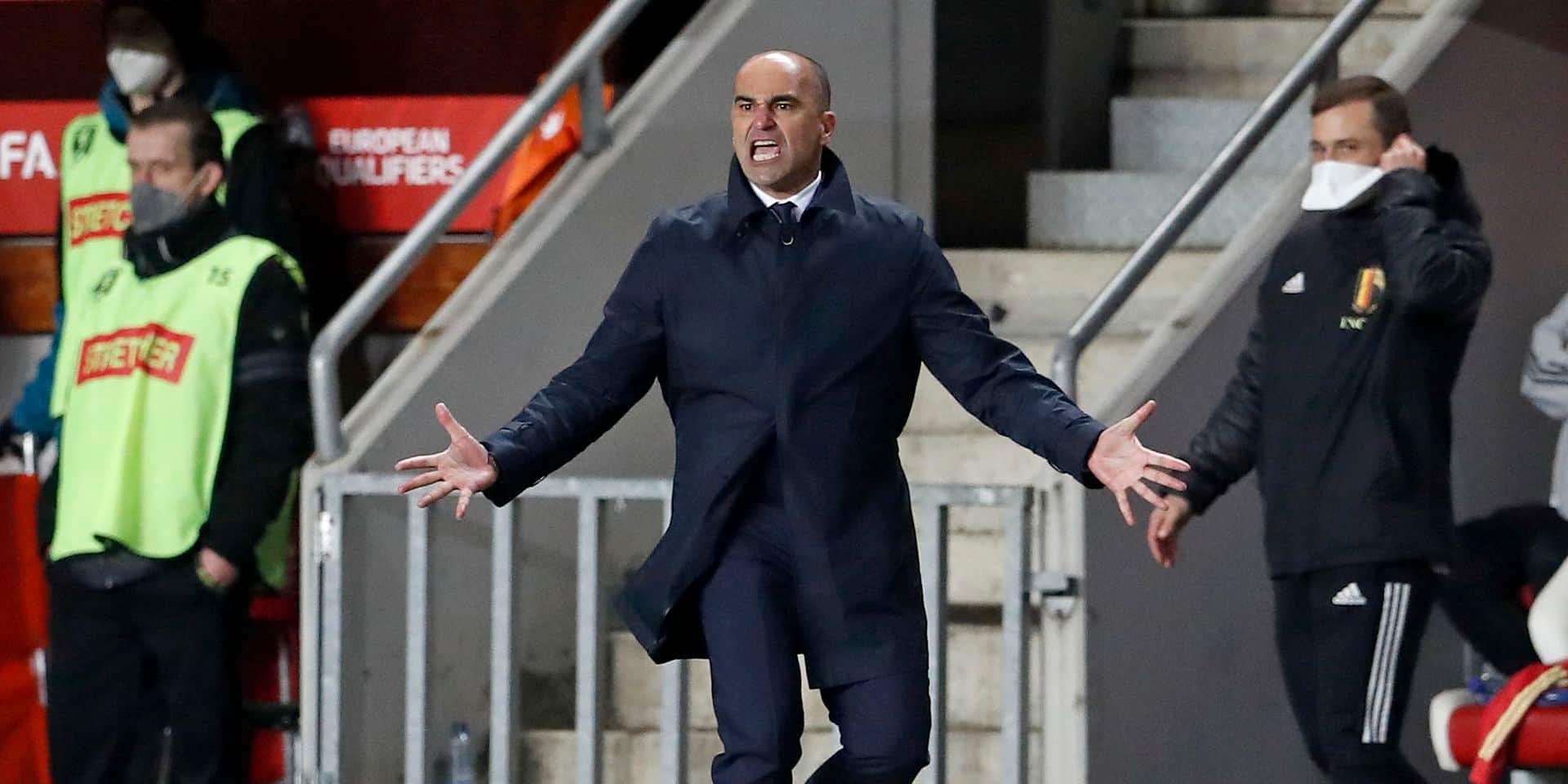 """Roberto Martinez n'a pas reconnu son équipe face aux Tchèques : """"Nous n'étions pas à notre vrai niveau en possession"""""""