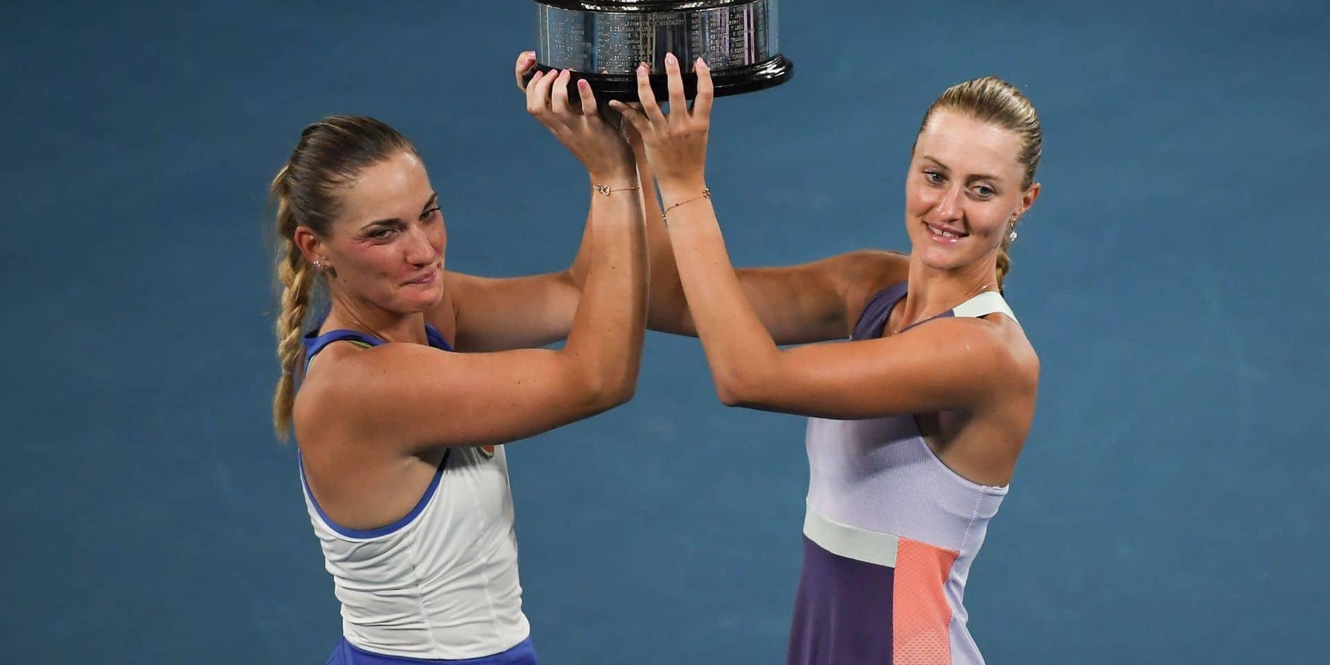 """US Open : Timea Babos crie à """"l'injustice"""" après son exclusion du double avec Mladenovic"""