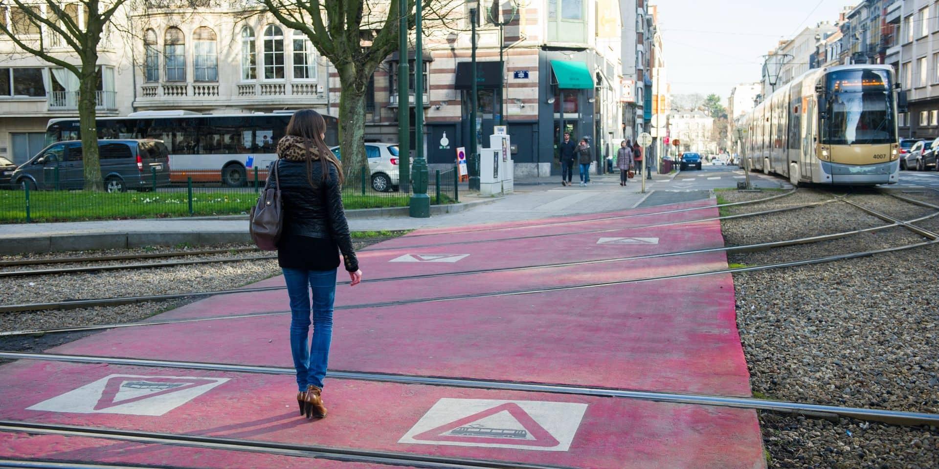 46 accidents de tram impliquant des piétons ou cyclistes en 2020 : une baisse de 30% par rapport à 2019