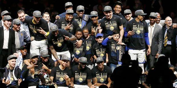aa731feb99e3 NBA Finals Game 4  Le débrief du coup de balai des Warriors (85-108 ...