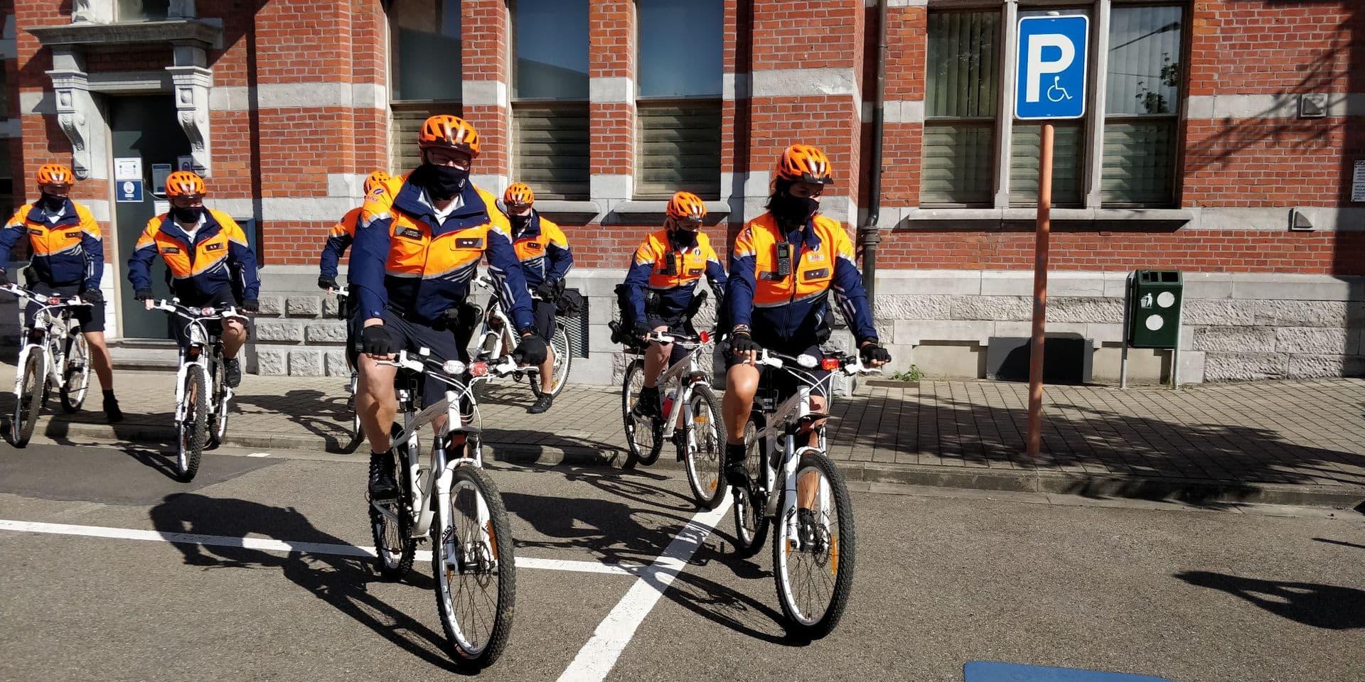La police de Mons-Quévy se remet en selle