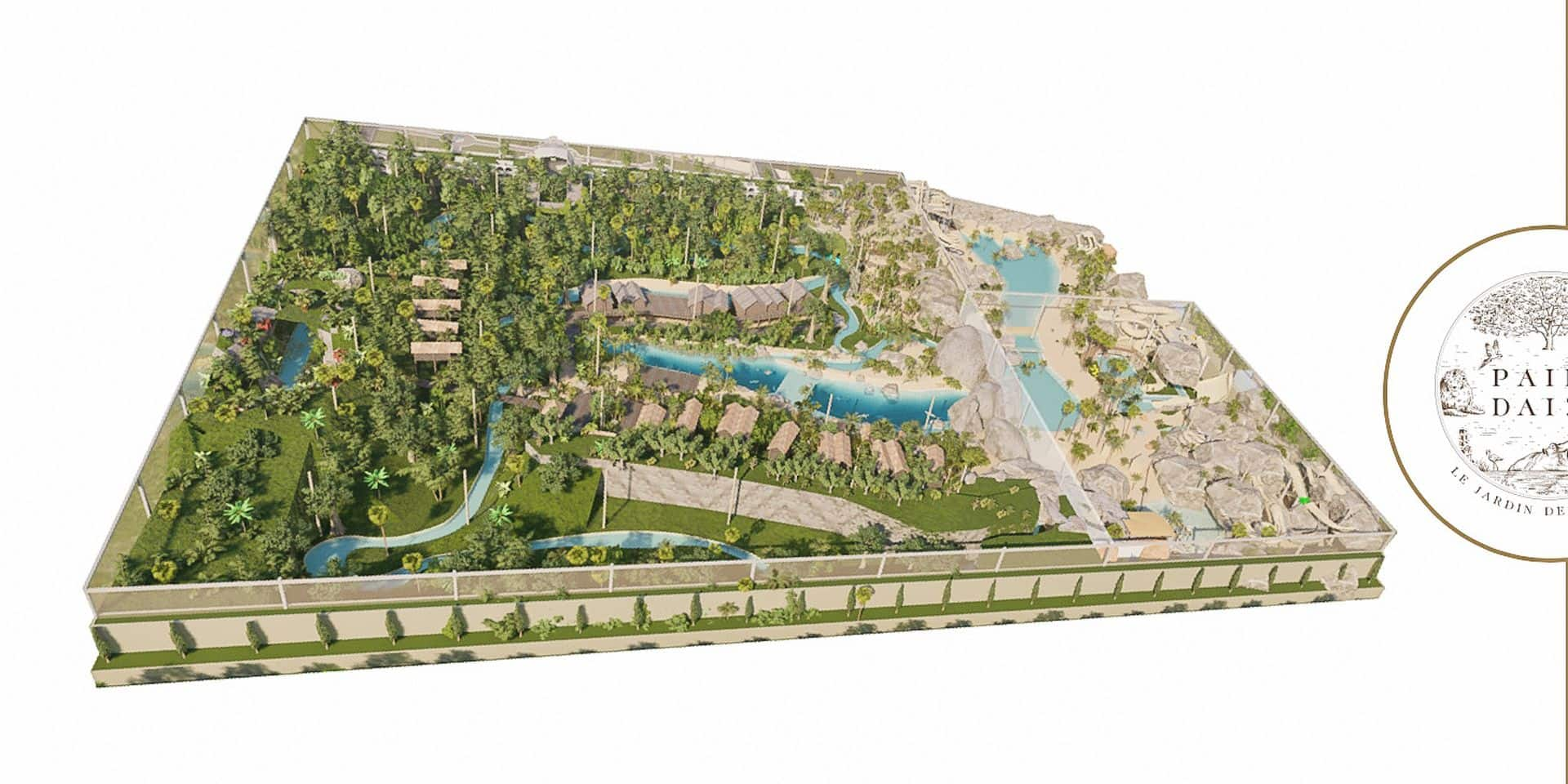 Pairi Daiza va bâtir une gigantesque serre tropicale