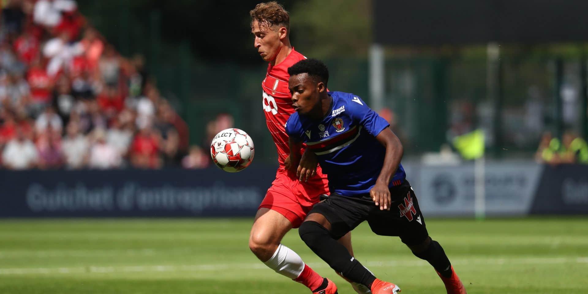 Evann Guessand, un jeune attaquant français, est suivi par Anderlecht