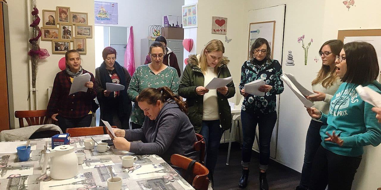 Les Fleurs du bien, un espace pour femmes SDF