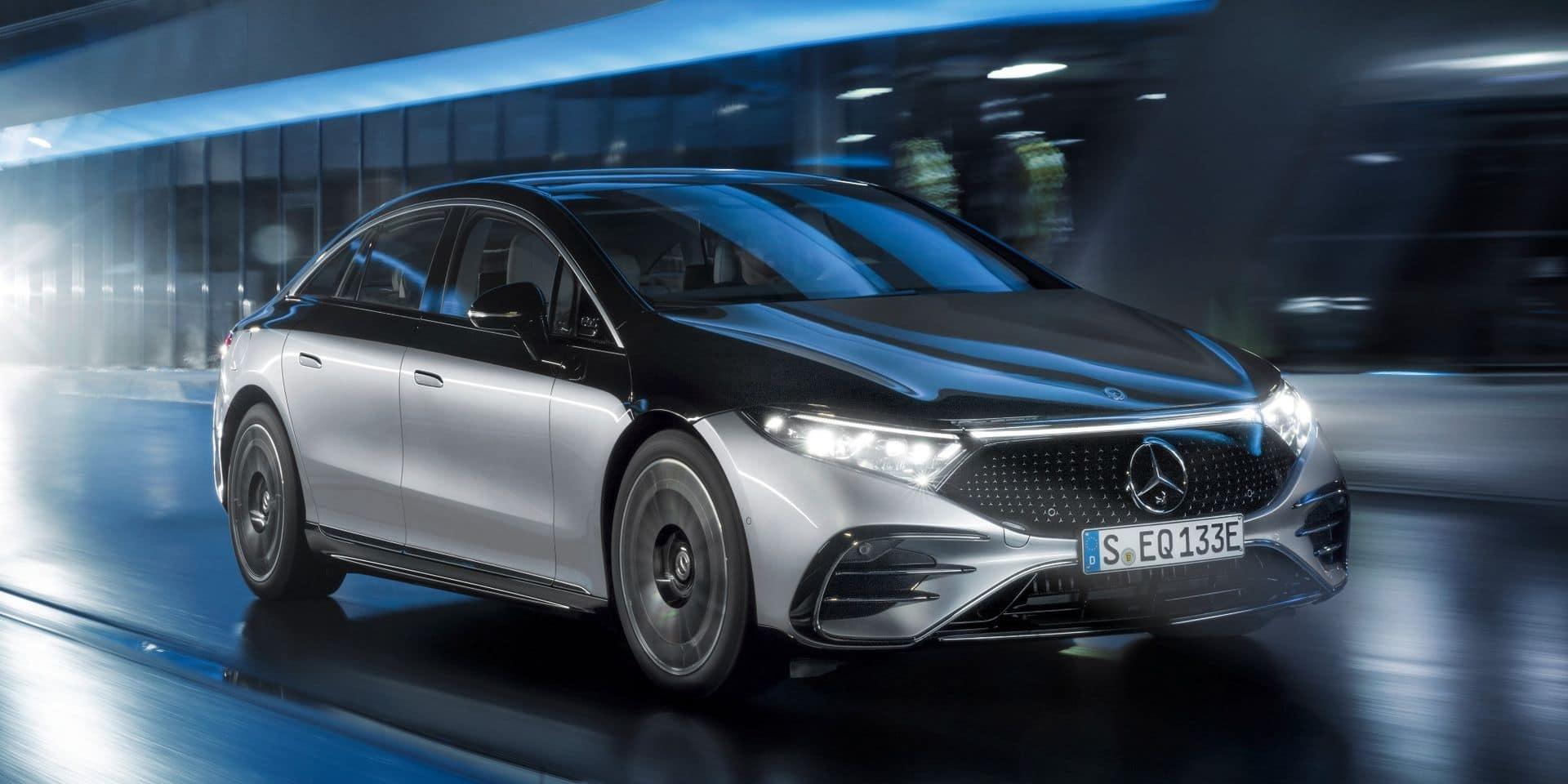 Mercedes EQS : le porte-drapeau étoilé électrique à 770 km d'autonomie !