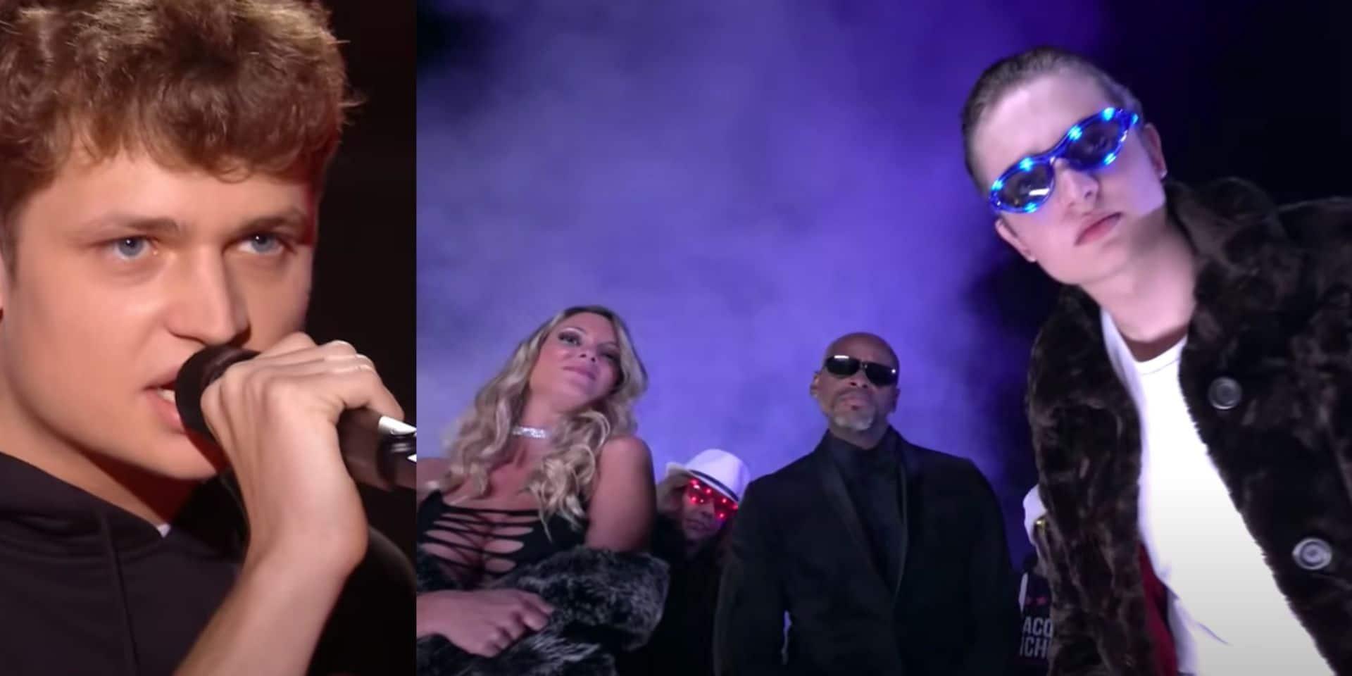 The Vivi, le candidat exclu de The Voice, a tourné un clip en partenariat avec... Jacquie et Michel