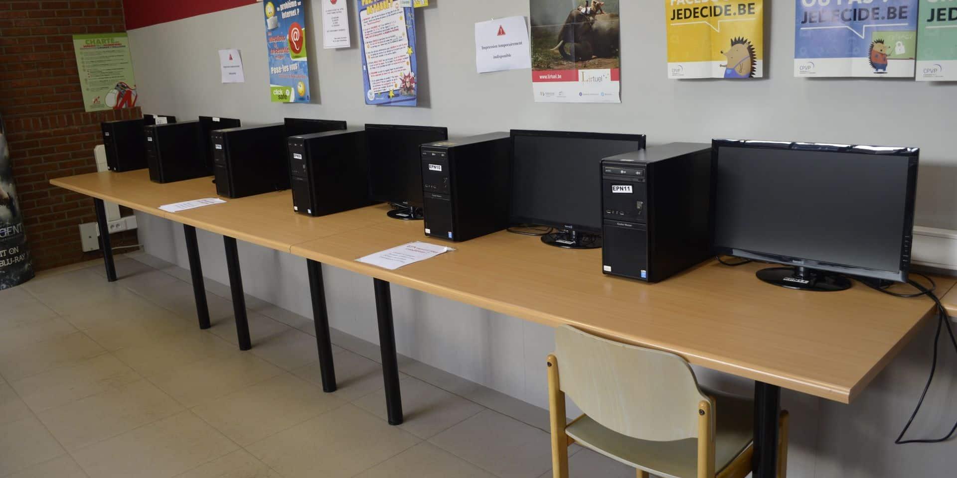 Châtelet: les bibliothèques ouvertes aux étudiants