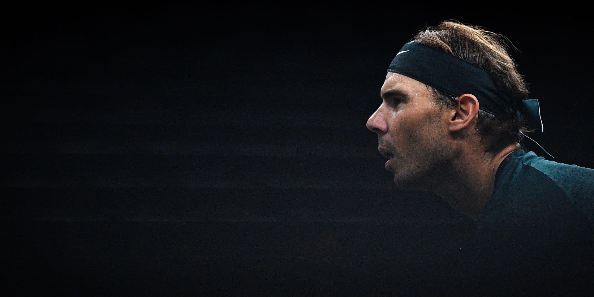 """Nadal à la recherche du titre manquant à Londres: """"Cela ne sert à rien de parler avant un tournoi"""""""