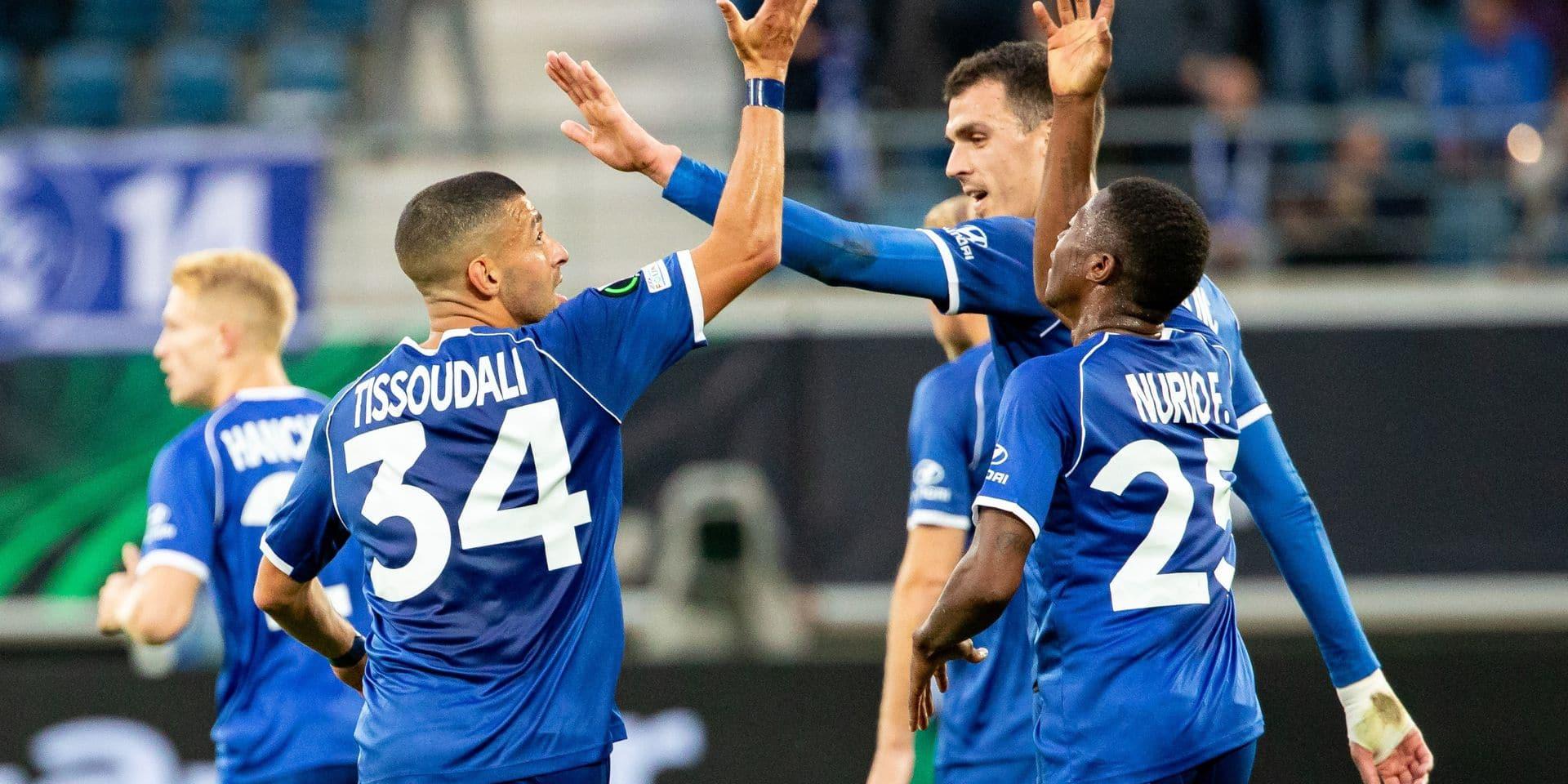Conference League : La Gantoise aligne un deuxième succès face à Anorthosis (2-0)