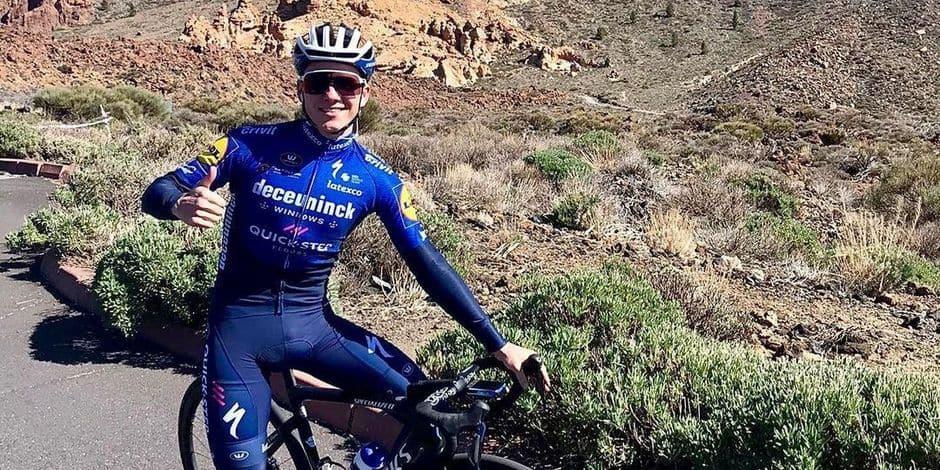 """L'entraîneur d'Evenepoel est rassuré: """"Remco sera compétitif au Giro"""""""