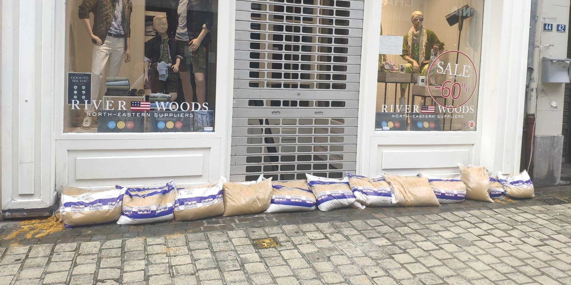 Les commerçants de Liège invités à fermer les magasins!