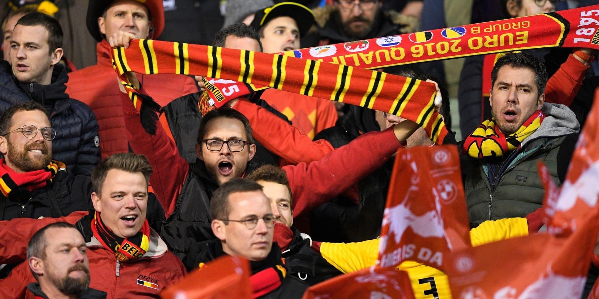 Euro 2020: la vente des tickets pour les matches des Diables débute aujourd'hui !